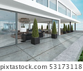 The entrance group of the modern house is 53173118