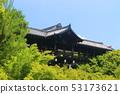 【京都府】新鲜绿色的Tsutenbashi(Tofuku-ji Temple) 53173621