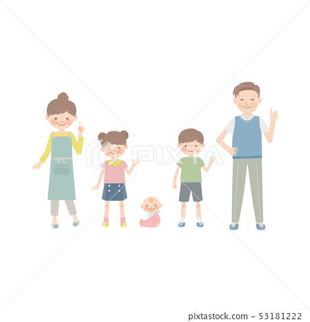 Posing with family 53181222