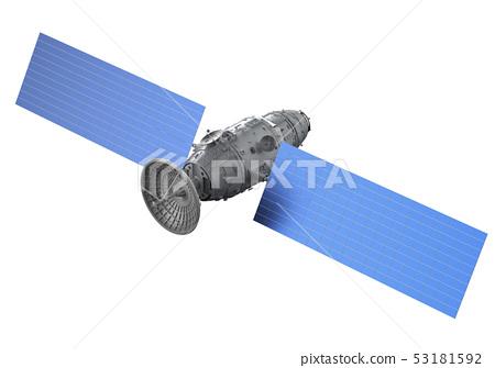 Satellite dish with antenna 53181592
