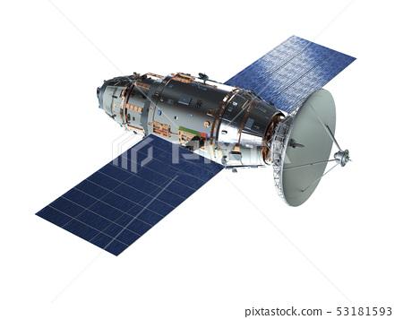 Satellite dish with antenna 53181593