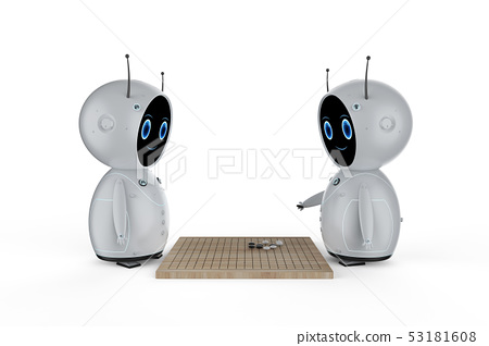 Robot play go 53181608