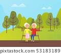 公园 祖父 外祖父 53183189