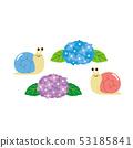 蝸牛與繡球花 53185841