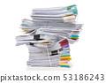 กระดาษ,กอง,เอกสาร 53186243