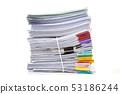 กระดาษ,กอง,เอกสาร 53186244