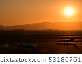 พระอาทิตย์ตกที่เห็นจาก Centrair 53186761