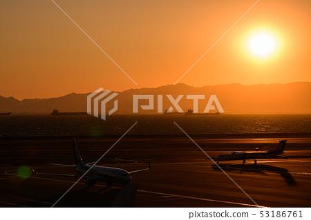 Sunset seen from Centrair 53186761