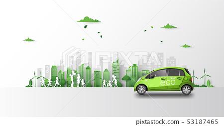 eco car concept 53187465