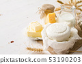 Selection of dairy products 53190203