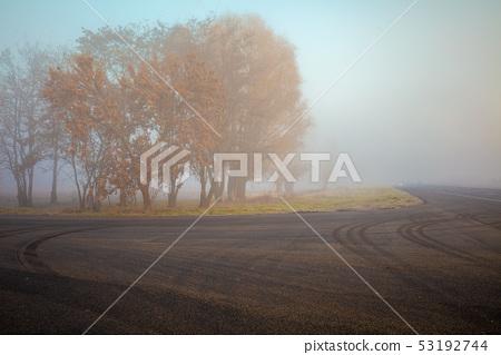 road, asphalt, turn 53192744