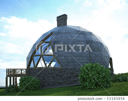 Gorgeous dome home of the future. Green Design, 53193856