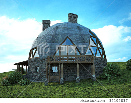 Gorgeous dome home of the future. Green Design, 53193857