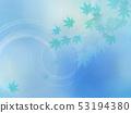 배경 - 일본 - 일본식 - 일본식 디자인 - 종이 - 단풍 - 여름 - 축제 - 하늘색 - 파문 53194380