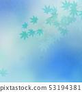 배경 - 일본 - 일본식 - 일본식 디자인 - 종이 - 단풍 - 여름 - 축제 - 하늘색 53194381