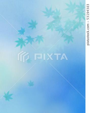 배경 - 일본 - 일본식 - 일본식 디자인 - 종이 - 단풍 - 여름 - 축제 - 하늘색 53194383