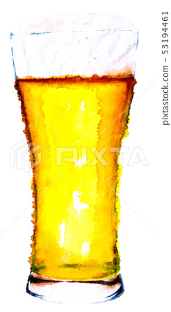Beer hand drawn 53194461