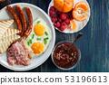 Fresh english breakfast 53196613