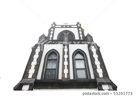 城市中的古老教堂 53201773