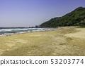 Shimane Prefecture Izumo Inasa Inama Beach A view on the sun area 53203774