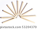 group of colored wooden pencils 53204370