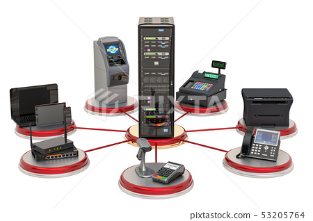 Server communication with trading, banking 53205764