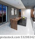 厨房 吧台 室内装饰 53206342