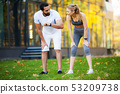 couple, female, fitness 53209738