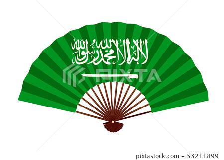 沙特阿拉伯國旗符號圖標 53211899
