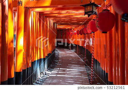 Kyoto Fushimi Inari Taisha Senbon Torii Japan 53212561