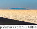 El teide volcano in the canary islands with a blue 53214048
