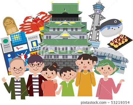 大阪家庭旅行 53219354