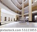 Luxury lobby interior. 53223855