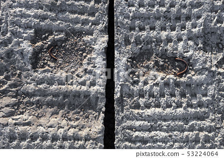 Grey concrete blocks surface 53224064