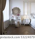 镜子 室内装饰 卧室 53224079