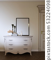 classic dresser with decor and a picture in a 53224098
