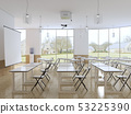 Empty classroom for students with modern equipment 53225390