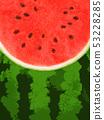 배경 - 여름 - 수박 53228285