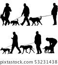 개, 강아지, 남자 53231438