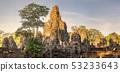 Ancient temple Bayon Angkor Siem Reap, Cambodia 53233643