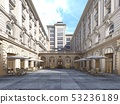 The architecture of the courtyard is classic 53236189