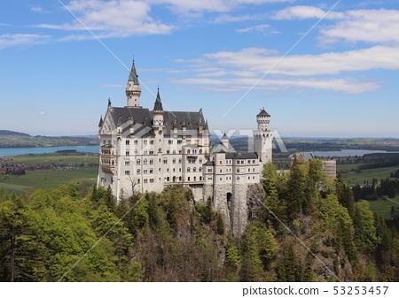 新天鵝堡城堡天鵝城堡德國歐洲 53253457