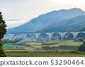 和田山 도시의 야산과 고속도로 53290464
