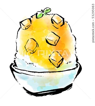 食物刷刨冰 53295063