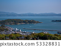 Japan Aegean cow window Maejima Shozushima Kuroshima 53328831