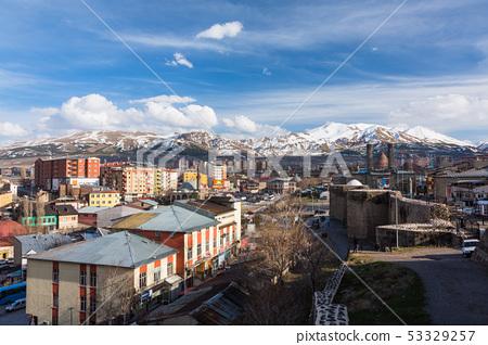 터키 에르 주름 에르 주름 성으로부터의 풍경 53329257