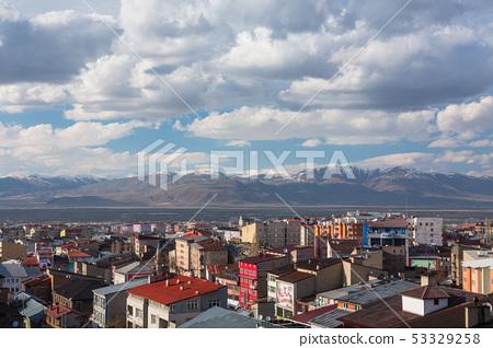 터키 에르 주름 에르 주름 성으로부터의 풍경 53329258