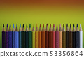 View of different colored crayons 53356864