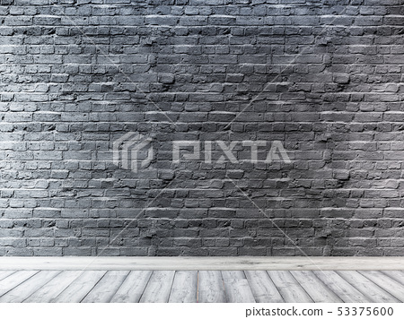 Urban background, brick empty wall, industrial 53375600