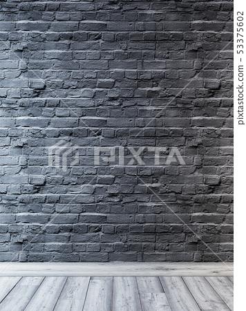 Urban background, brick empty wall, industrial 53375602